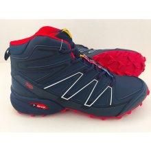 Pánska trailová obuv 3645M4 Červená / Navy