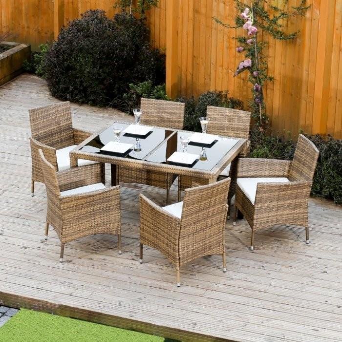 5822311ec993 Záhradná zostava Záhradný nábytok Tempo Kondela Garden 1+6 ...