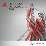 AutoCAD LT 2017 Commercial New Single-user ELD 2-Year Subscription with Advanc. Support, 057I1-WW3738-T591