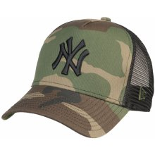 b373454c3f0 New Era 9FO Camo Team Aframe Trucker MLB New York Yankees Woodland Camo