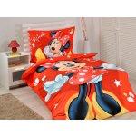 Jerry Fabrics obliečky licenčné Minnie Red micro 2016 140x200 70x90