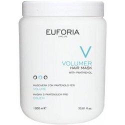 Euforia Volumer Objemová hydratačná maska na vlasy s pantenolom 1000 ml