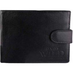 851be2b14 Always Wild kožené pánske peňaženky čierne N992L-FH Black od 22,00 ...