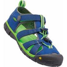 d7927fe49b88 Keen Chlapčenské sandále Seacamp II CNX INF true blue   jasmine green