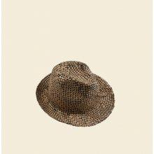 9141fd55d Dámsky slamený klobúk Kbas čierny prešívaný 255214-2