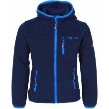 Trollkids Detská fleecová bunda Stavanger - modrá