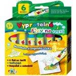 Fixky na textil vyprateľné 6ks v krabičke