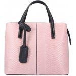 7ed43d3925 O bag kabelka Amaranto s čiernymi povrazovými rúčkami alternatívy ...