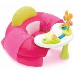 SMOBY 110201 Cotoons detské nafukovacie kreslo s didaktickým stolom so zvukom a svetlom
