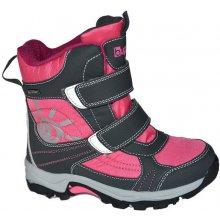 38cc23a83c987 BUGGA detská obuv zimná B085 WATERPROOF fialová