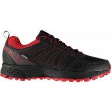 Karrimor Caracal Waterproof Trail Running Shoes pánské Black/Red