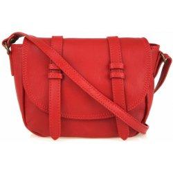 59397118437c Made In Italy kožená kabelka 8003 červená alternatívy - Heureka.sk