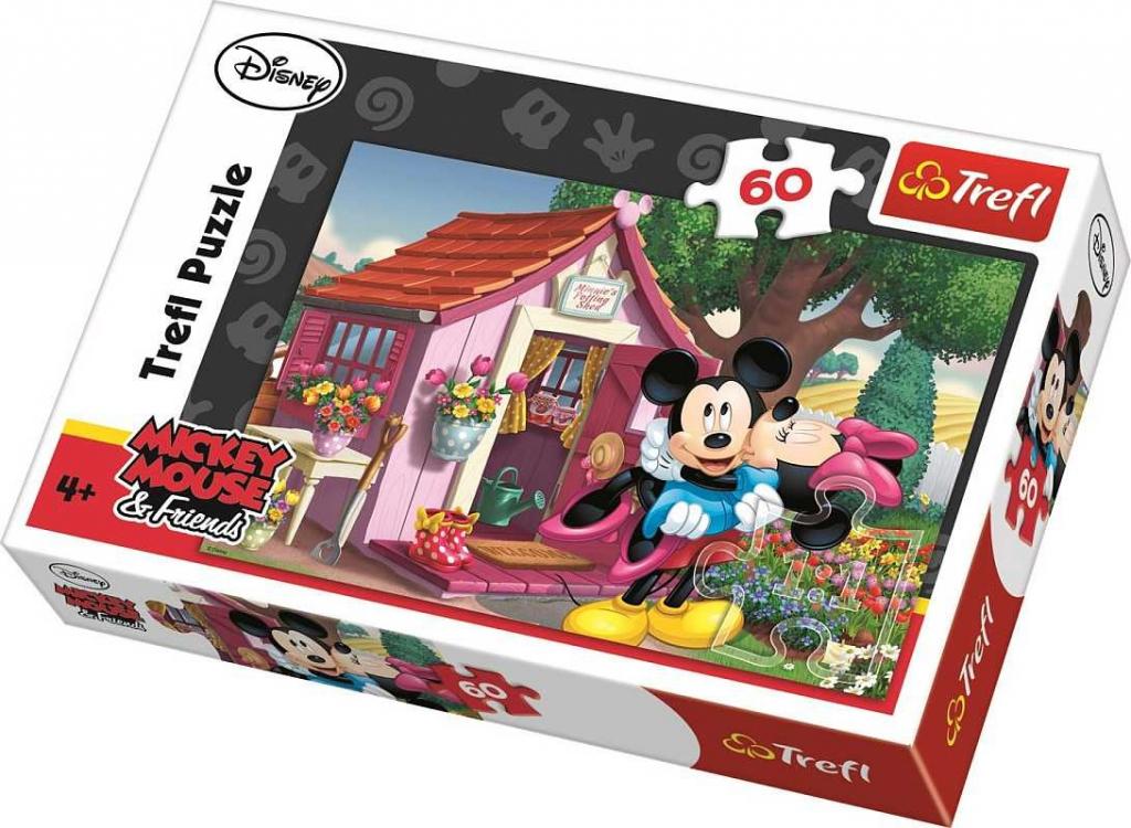 TREFL Mickey a Minnie na zahradě 60 dielov od 2 4ac6270bc85