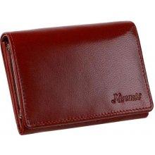 Mercucio Dámska červená peňaženka kožená 67d184fbcfe