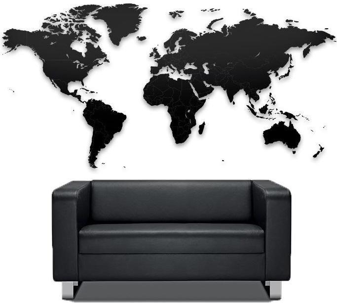 Luxusna Drevena Mapa Na Stenu Alternativy Heureka Sk