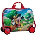 JOUMMABAGS detský kufrík na kolieskach Mickey a Pluto friends 46x30x21 cm