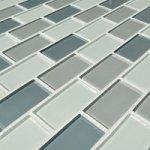 MOSAGRES GM07 Mozaika sklo šedý mix 300x300x4mm