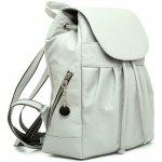 2984938de3 kožený módny ruksak 8665u z prírodnej kože v sivý farbe