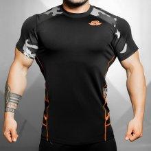 669cf37574b9 Body Engineers Maskáčové fitness tričko RENZO BE019