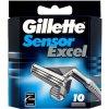 Gillette Sensor Excel náhradné hlavice 10 ks