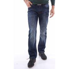 Pánske zateplené rifľové nohavice DOCKHOUSE (D6015-1) - modré ce1ea275713