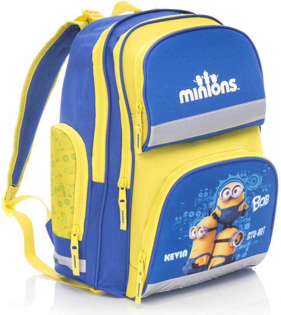 d9969898c7 KARTON P+P anatomicky tvarovaný batoh MINIONS Mimoni žltá
