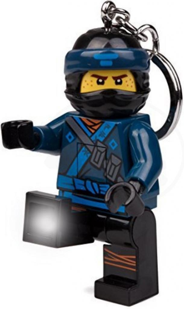 Prívesok na kľúče Prívesok na kľúče LEGO NINJAGO MOVIE JAY SVIETIACA ... 26cc6107a17