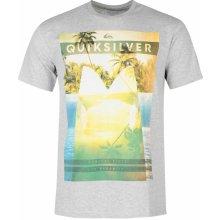 629c3787b306 Quiksilver Twin View Short Sleeve T Shirt Mens Grey