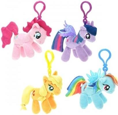Prívesok na kľúče Prívesok na kľúče Plyšový My Little Pony 8 cm ... 3bc14f39154