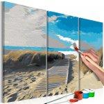 Maľovanie podľa čísiel Beach Blue Sky