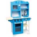 LEGLER Drevená kuchynka Modrá