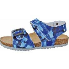 Protetika Chlapčenské ortopedické sandále modré 6d52b6cd6f8