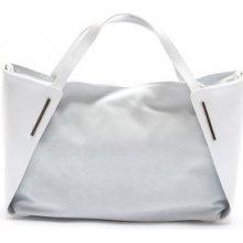 Mangotti kožená kabelka 878 Bianco