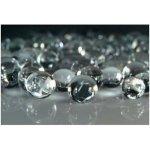 Vodné perly gélové guličky do vázy Priehladné