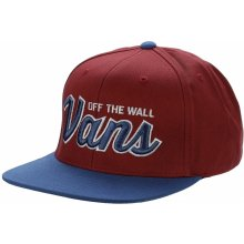 Vans Wilmington Snapback Red Dahlia/Blue Ashes