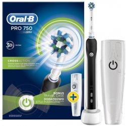 elektricka zubna kefka Oral-B Pro 750 Black