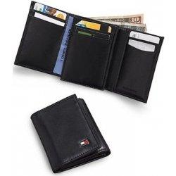 05e1ddcd05 pánska peňaženka tommy hilfiger oxford trifold slim black ...