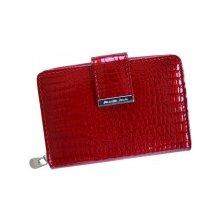 Jennifer Jones Kožená dámska peňaženka červená 6209 e38cc24a656
