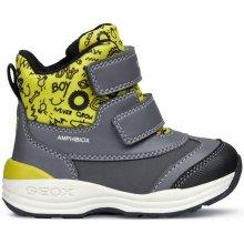 ed299f28f Geox Chlapčenské zimné topánky New Gulp šedé