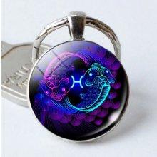 Prívesok na kľúče so znamením zverokruhu, Znamenie zverokruhu Ryby