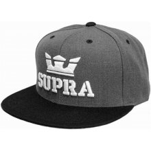 Supra Above Snapback Charcoal Heather Black 0e24465d219