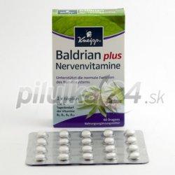 Recenzie Kneipp Baldrian plus Nervenvitamine 90 tabliet - Heureka.sk 5954e0af83c