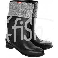 f183aad1fb736 Rybárske čižmy zateplené filcom PED čierna pánske od 14,63 ...