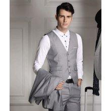 Pánska vesta ku obleku svetlo sivá