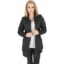 1df26d573 Menej ako 100 € · Len na sklade · Urban Classics Ladies Long Women Bomber  Jacket black Dámská bombera