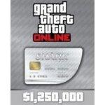 GTA 5 Online Great White Shark Cash Card 1,250,000$