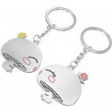 Prívesok na kľúče pre dvojicu zaľúbené hubky AB31.04 382bf40cf39