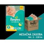 Pampers Active New Baby 2 Mini Plienky Veľkosť 2 (Mini) 3-6 Kg, 228ks - MESAČN