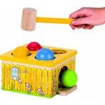 Goki zatĺkacia hra žltá chyť myš