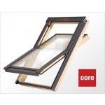 ROOFLITE Stešné okno drevené 78x118cm CORE dvojsklo